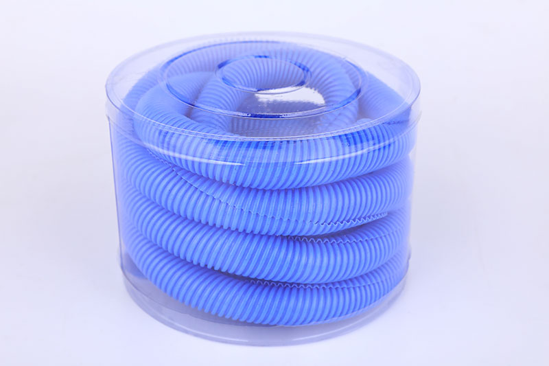 Flexible Polyethylene Tube Blue Hose Corrugated Pipe CP-003